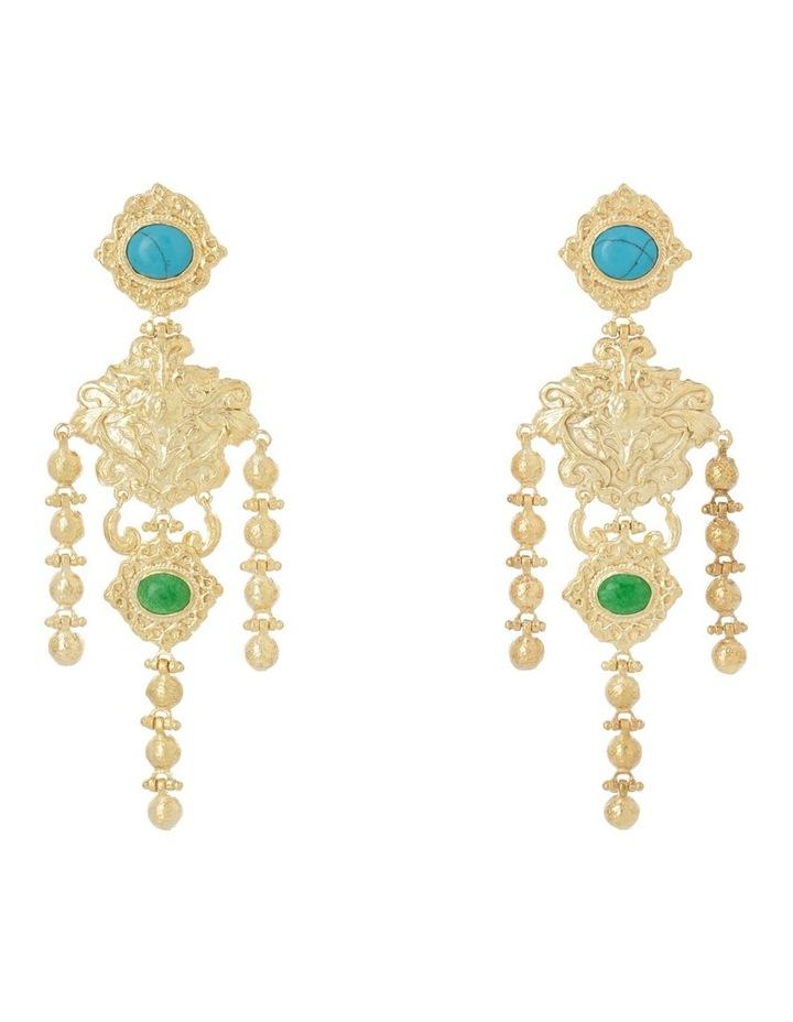 Angelique Turquoise Earrings image 1