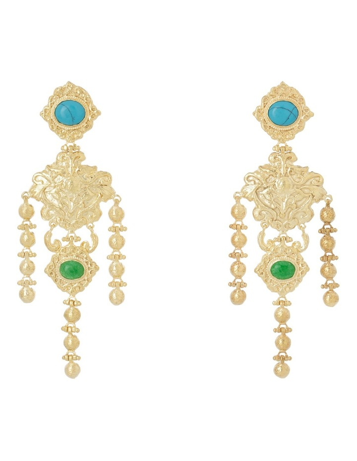 Angelique Turquoise Earrings image 1