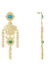 Christie Nicolaides - Angelique Turquoise Earrings