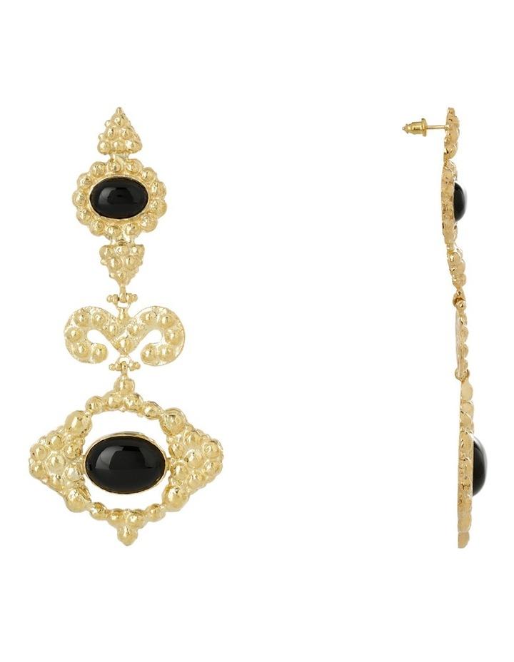 Delphine Black Earrings image 2