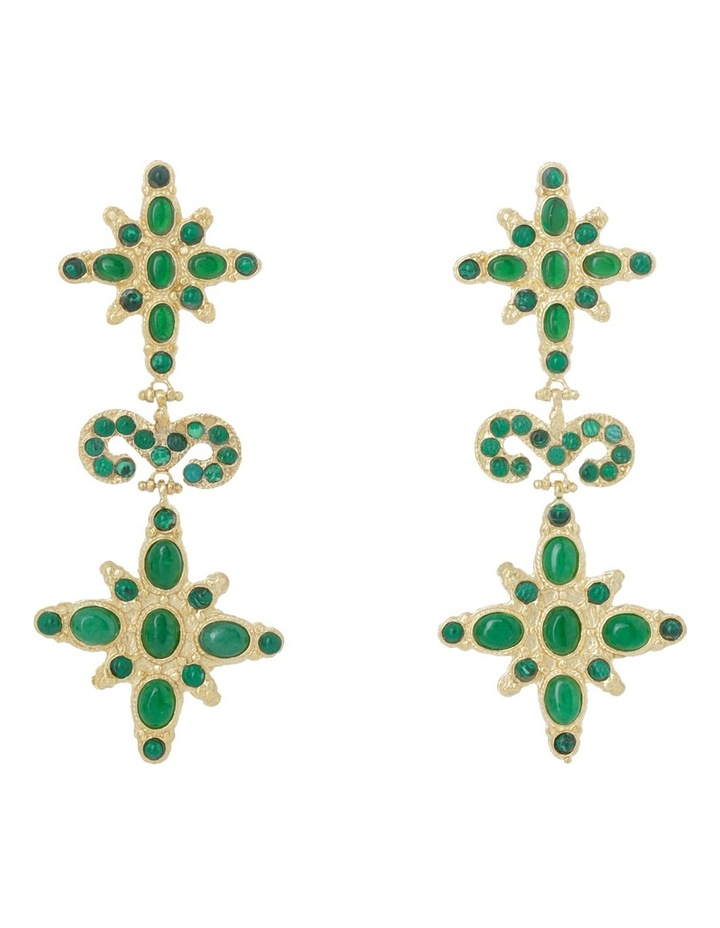 Elsa Green Earrings image 1