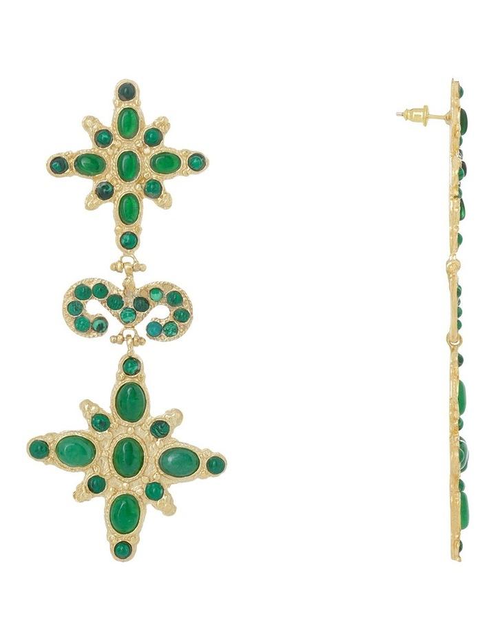 Elsa Green Earrings image 2