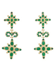 Christie Nicolaides - Elsa Green Earrings