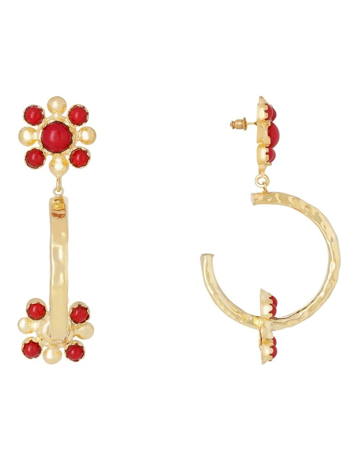 Giovanna Hoops Red image 1