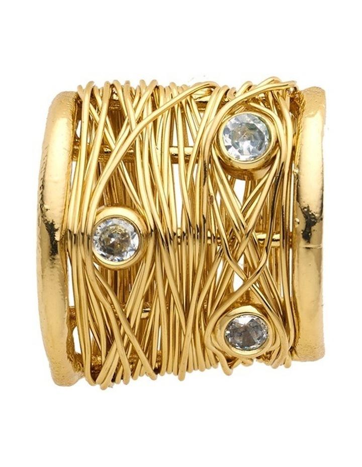 Gold Hoop Earrings image 2