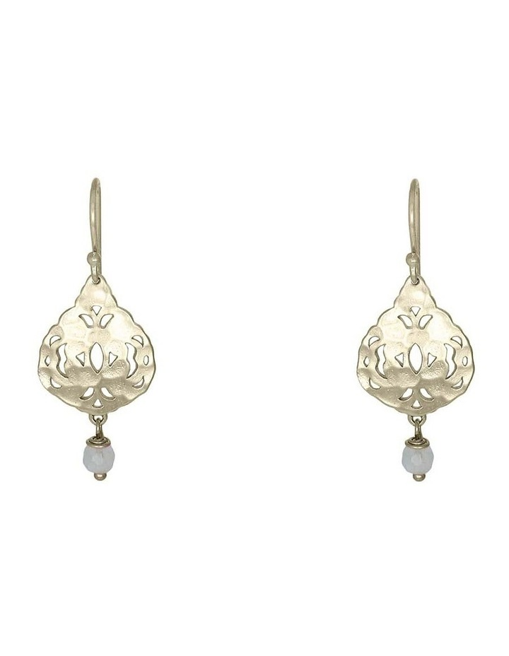 Lola Small Earring Soft Gold image 1
