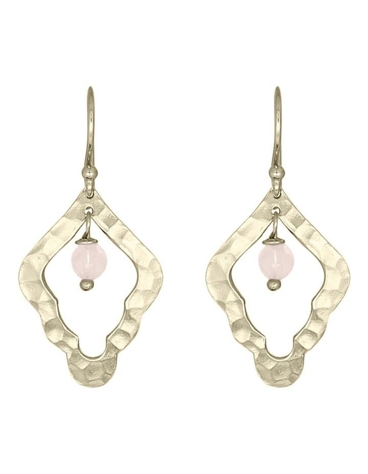 Aleah Small Earring Soft Gold image 1