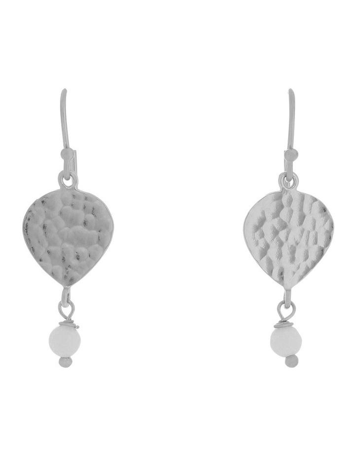 Maya Teardrop Earring Silver image 1
