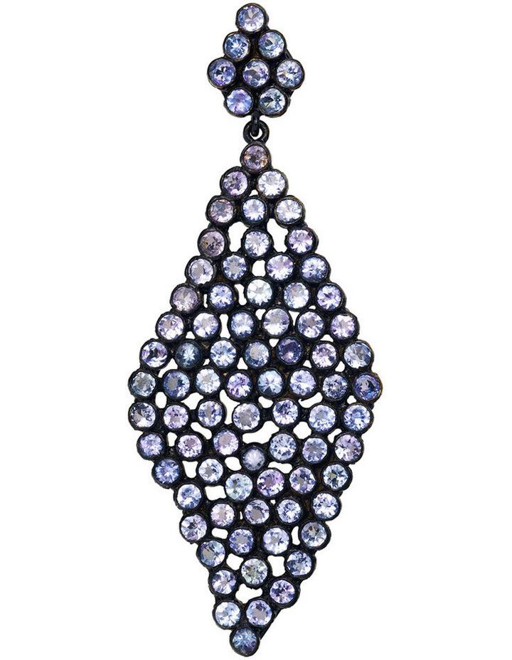 Gemstone Earrings Blue image 2