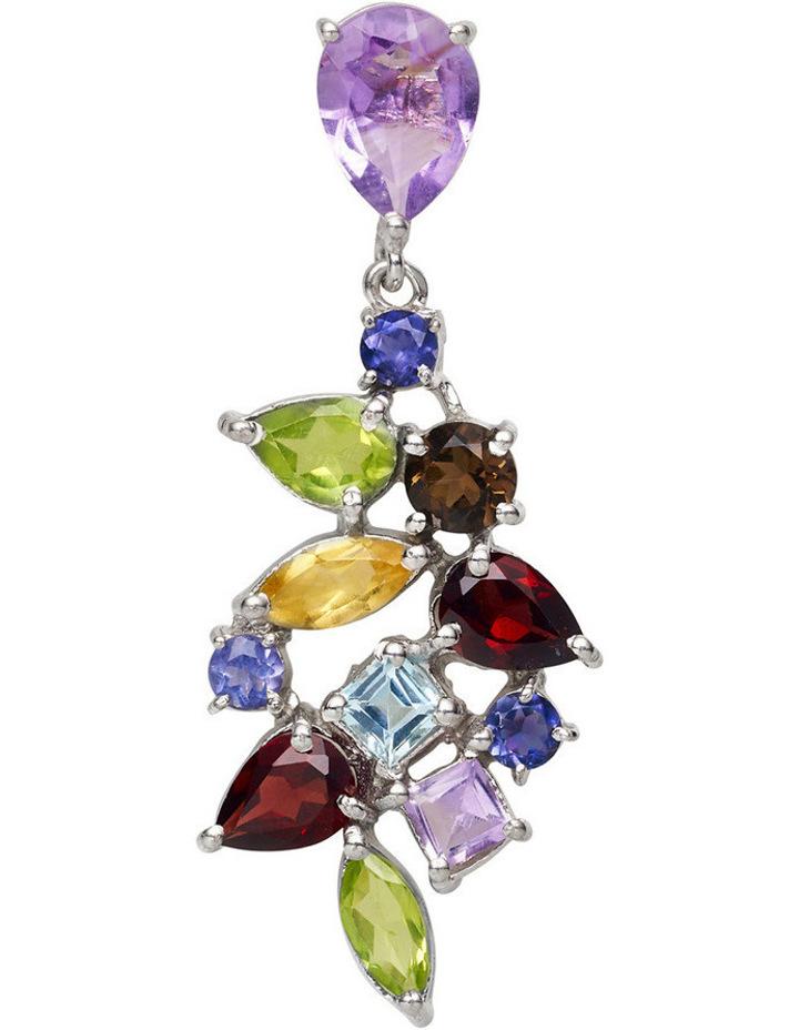Gemstone Earrings Multi image 2