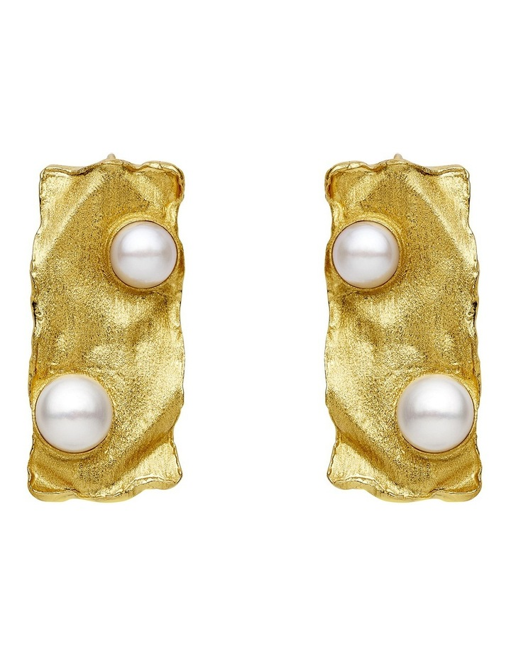 Gold Earrings image 1