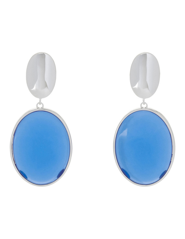 Azure Clip Earrings image 1