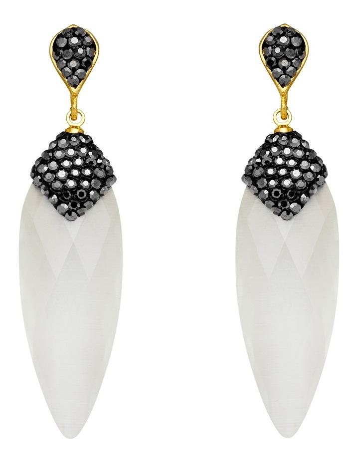 Earrings White image 1