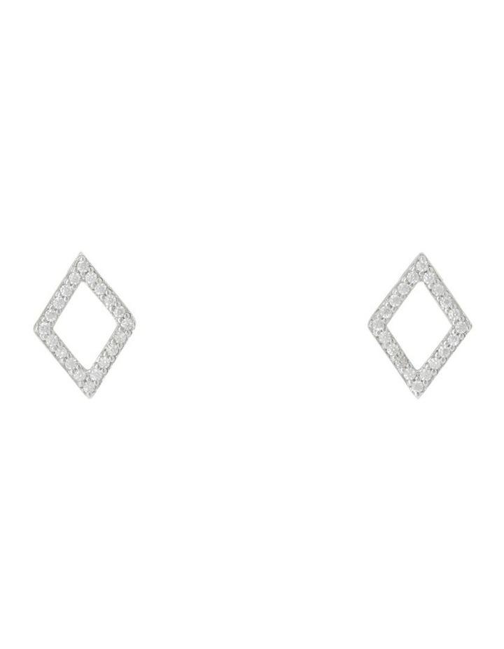 TE16178 Vibe Stud Earrings Silver image 1