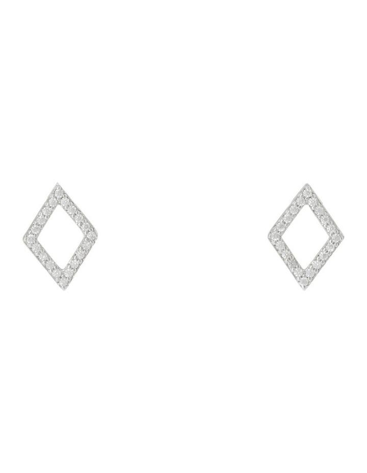 TE16178 Vibe Stud Earrings Silver image 2