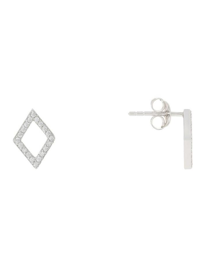 TE16178 Vibe Stud Earrings Silver image 3