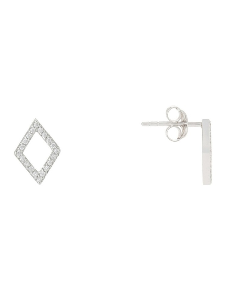 TE16178 Vibe Stud Earrings Silver image 4