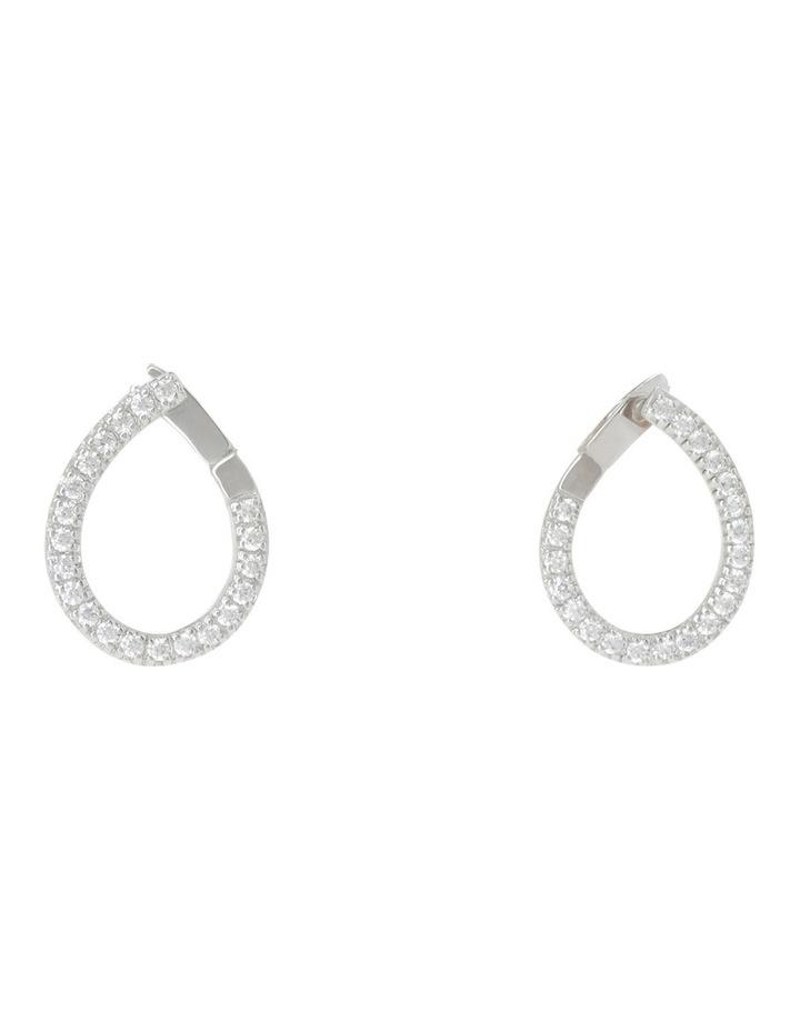 Drop Earrings Silver image 1
