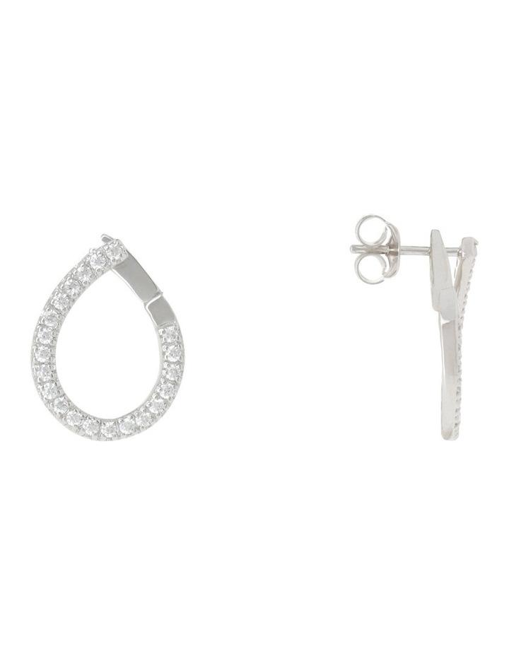 Drop Earrings Silver image 2