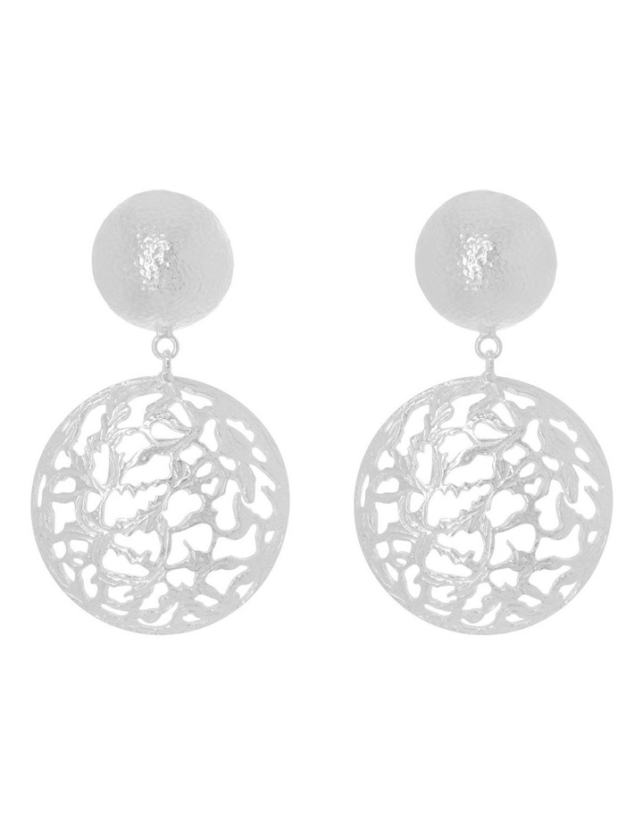 Lila Earrings Silver image 1