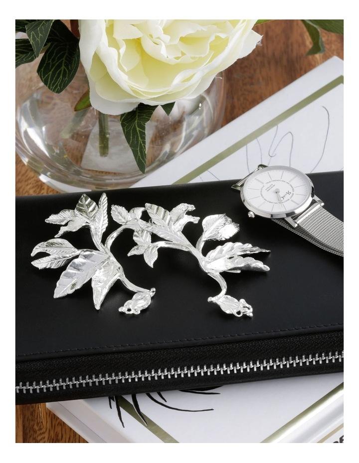 Rosario Earrings Silver image 3