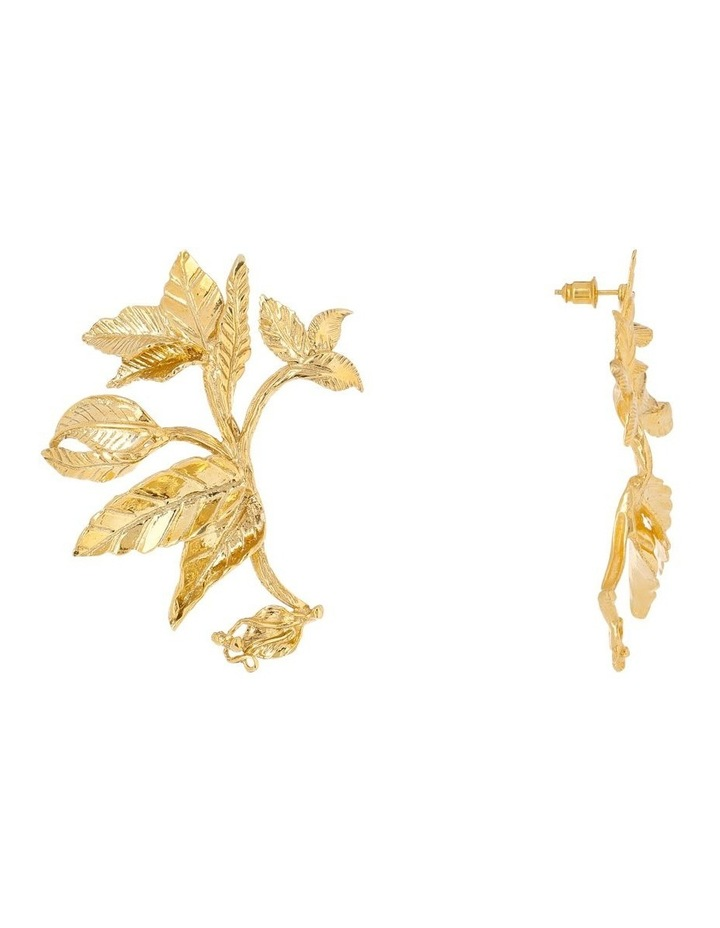 Rosario Earrings Gold image 2