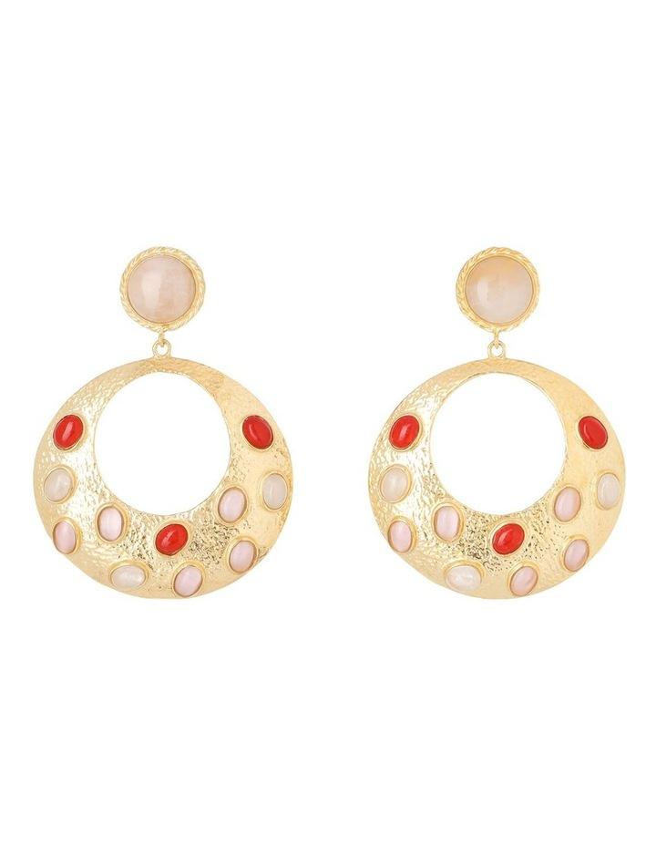 Salsa Earrings Pink/Red image 1