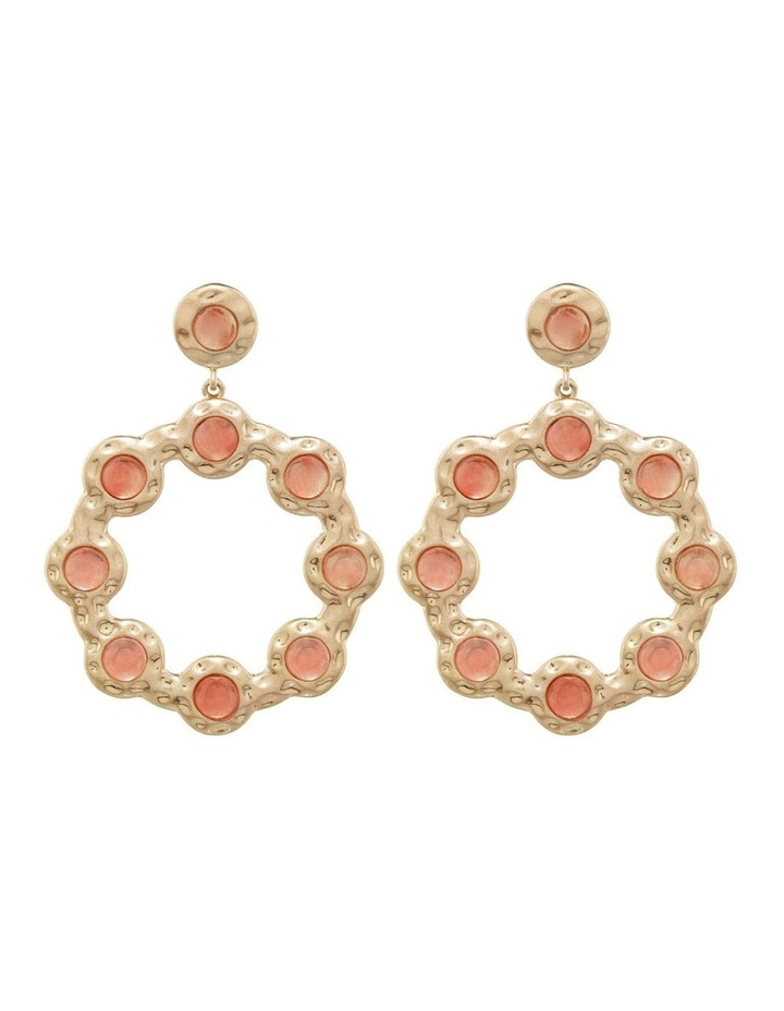 Linden Statement Earring Watermelon image 1