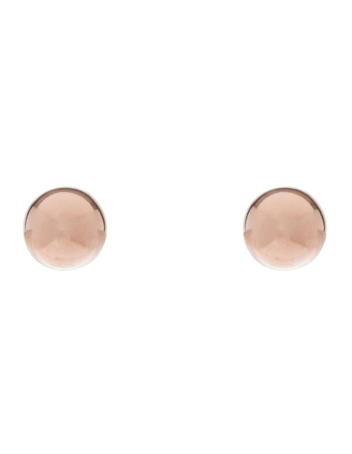 8mm Rose Gold Filled Ball Studs image 1