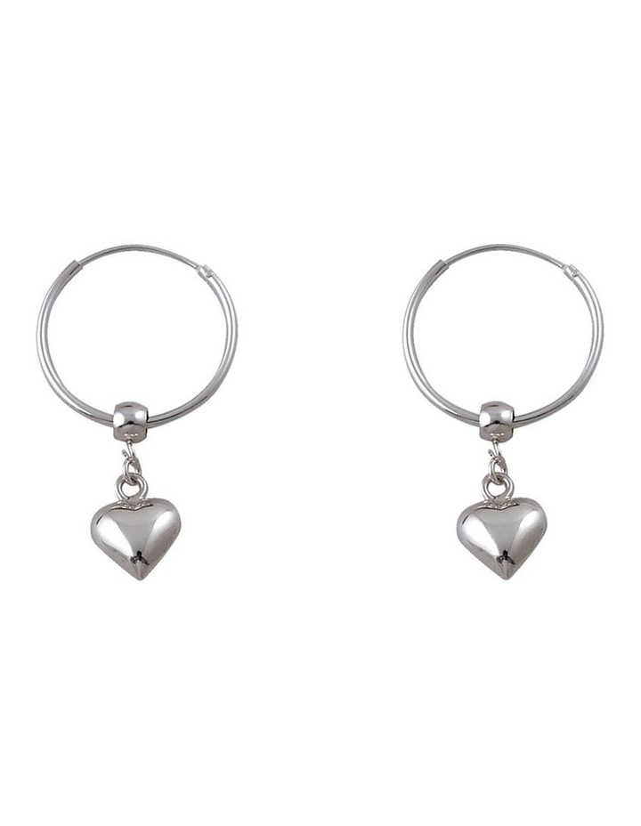 Puffy Heart Hoops image 1