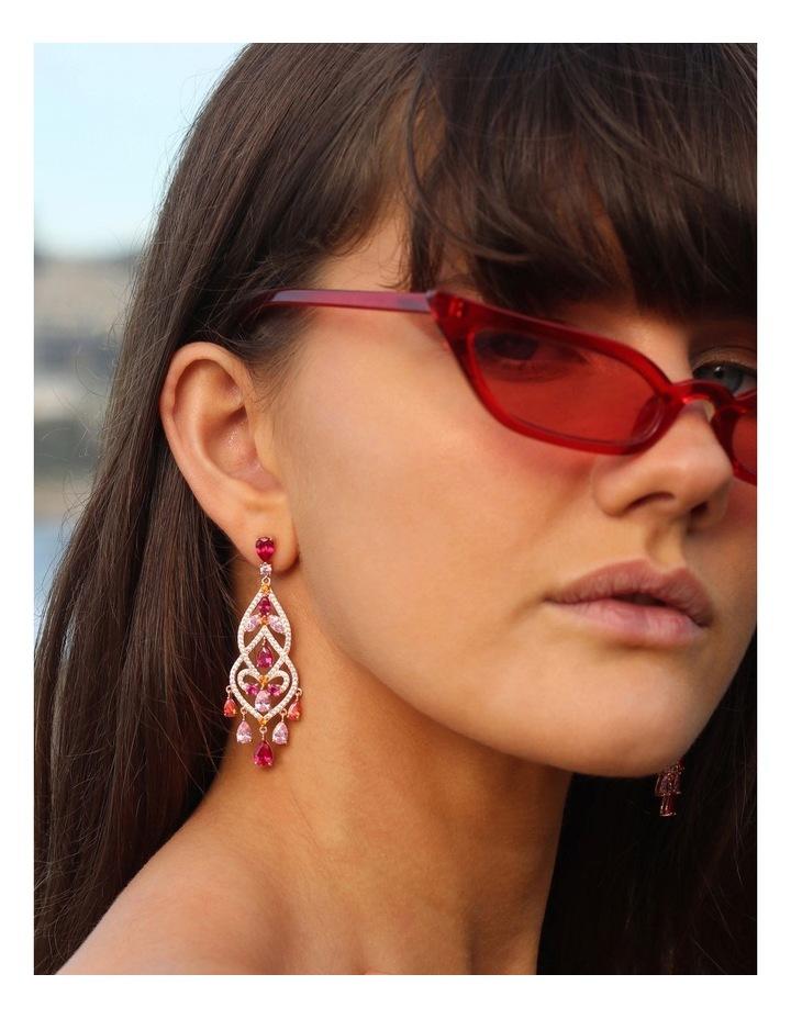 Luxe Chandelier Earrings image 2