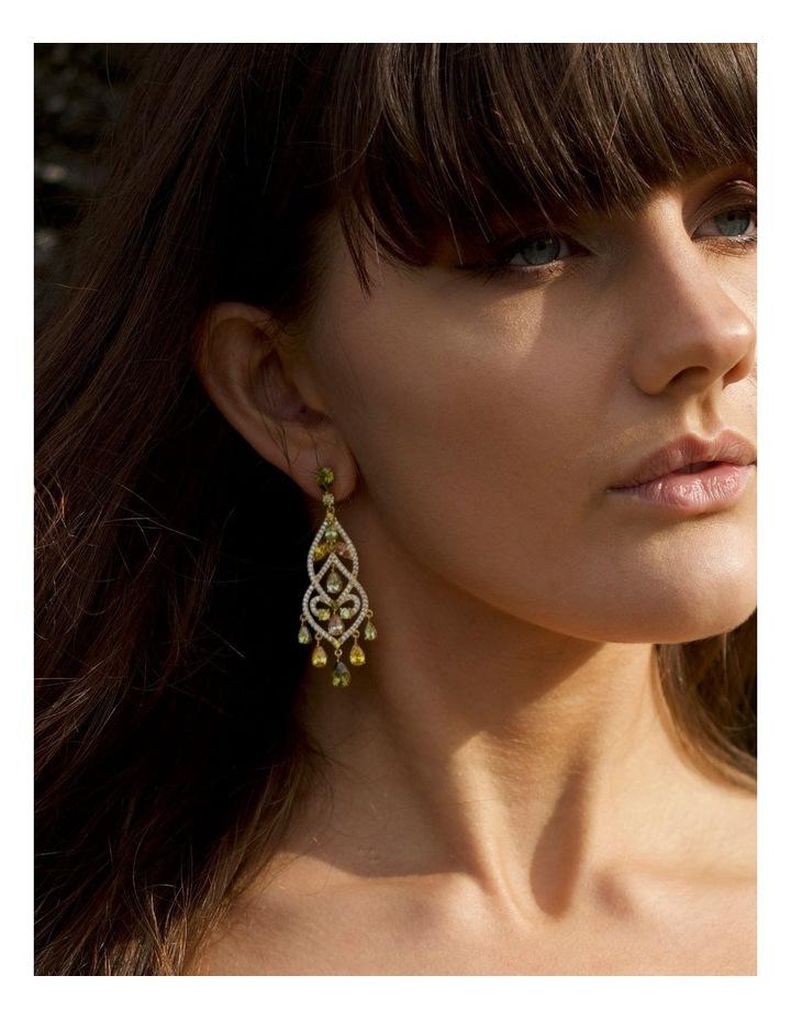 Luxe Chandelier Earrings image 3