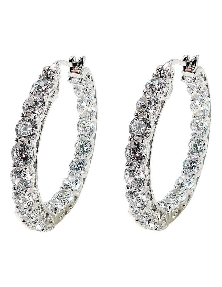 Luxe Hoop Earrings image 1