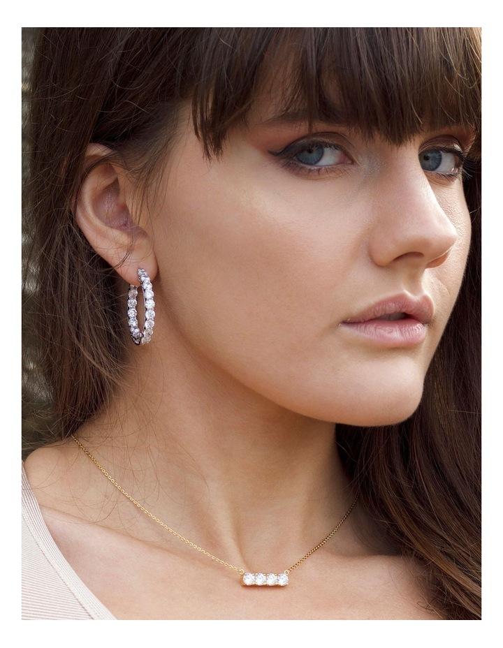 Luxe Hoop Earrings image 2