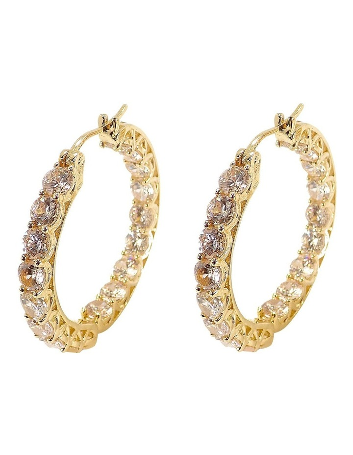 Luxe Hoop Earrings by Sally Skoufis