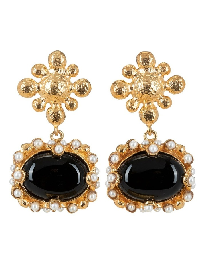 Tesoro Earrings Black image 1