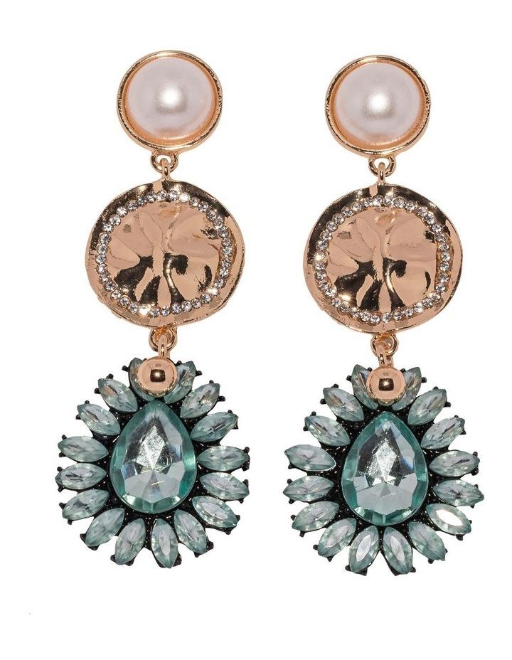 Aqua Aida Earrings image 1