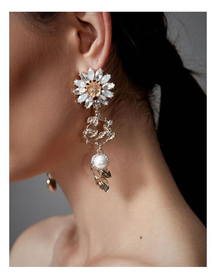 Soriya Sunflower Earrings image 2