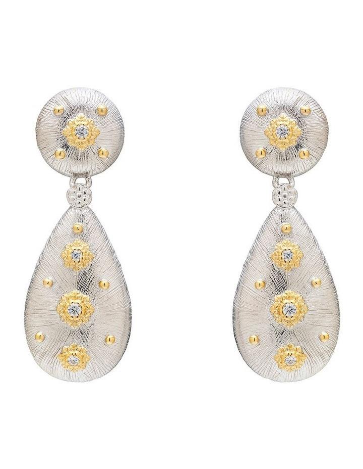 Silver Luxe Earrings image 1