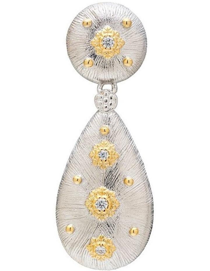 Silver Luxe Earrings image 3