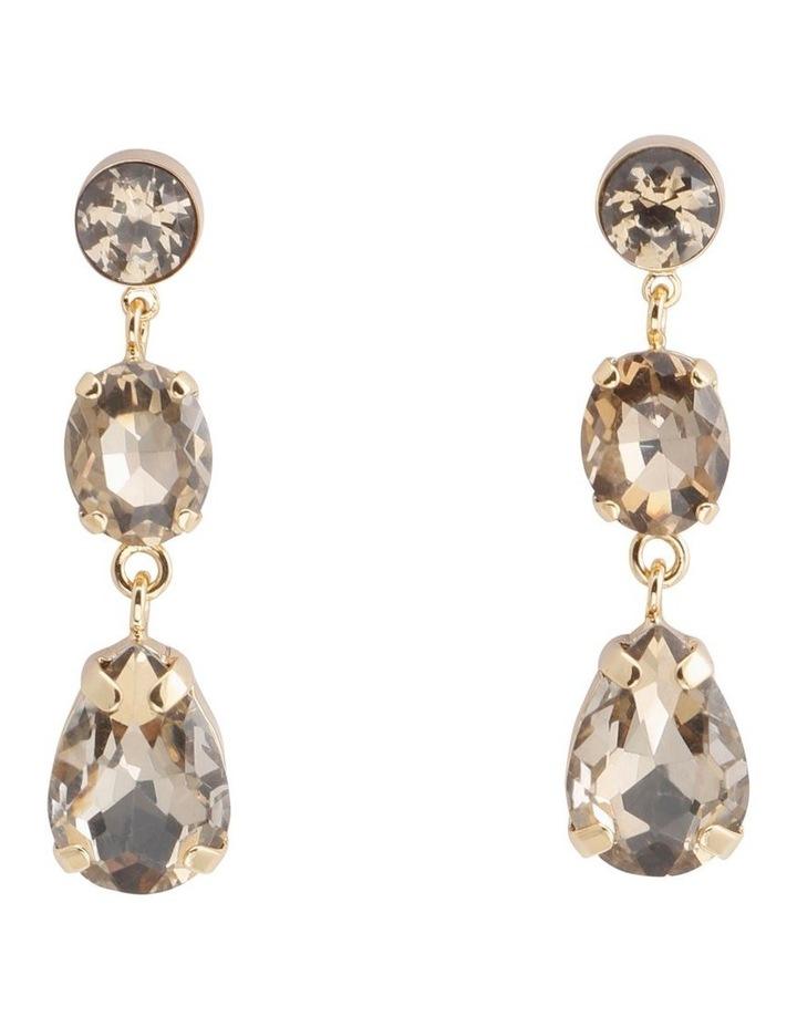 Isabel Crystal Earring image 1