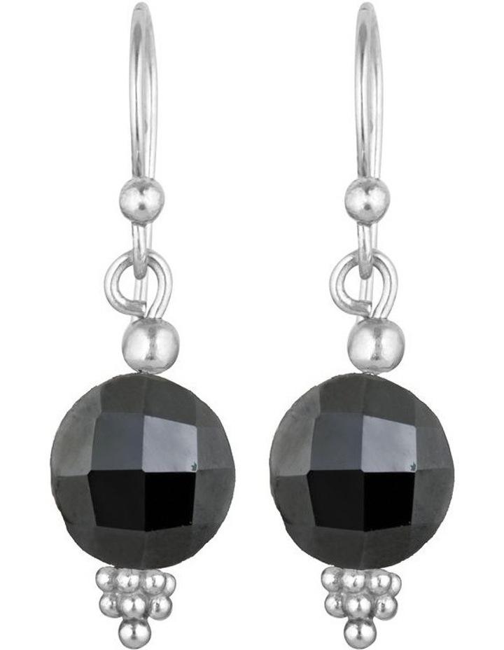 Divina Faceted Gemstone Drop image 1