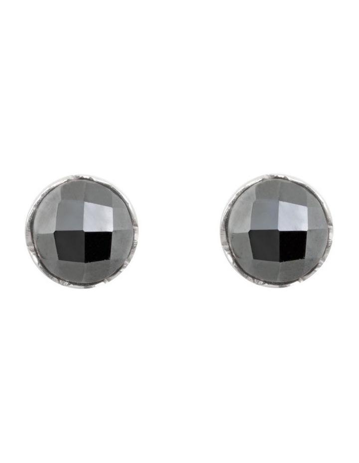 Luna Organic Gemstone Studs image 1