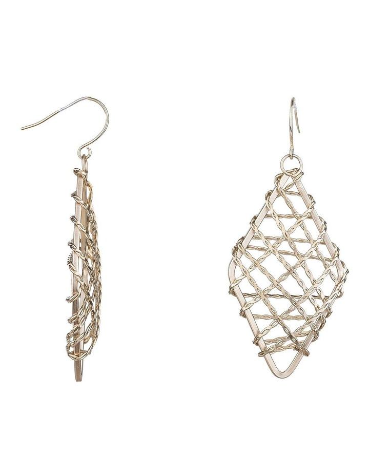 Metal Woven Earrings image 2