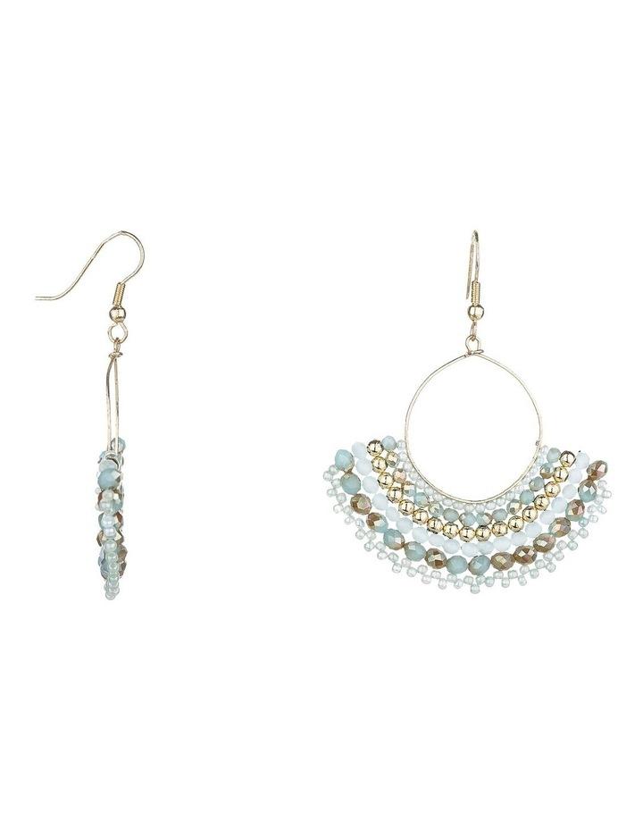 2-Tone Beaded  Earrings image 2