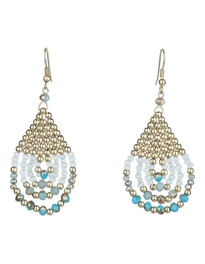 Beaded Drop Earrings image 1