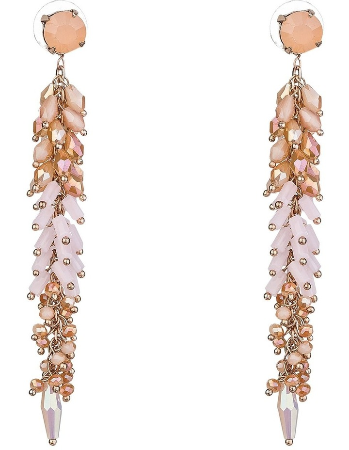 Long Drop Beaded Earrings image 1