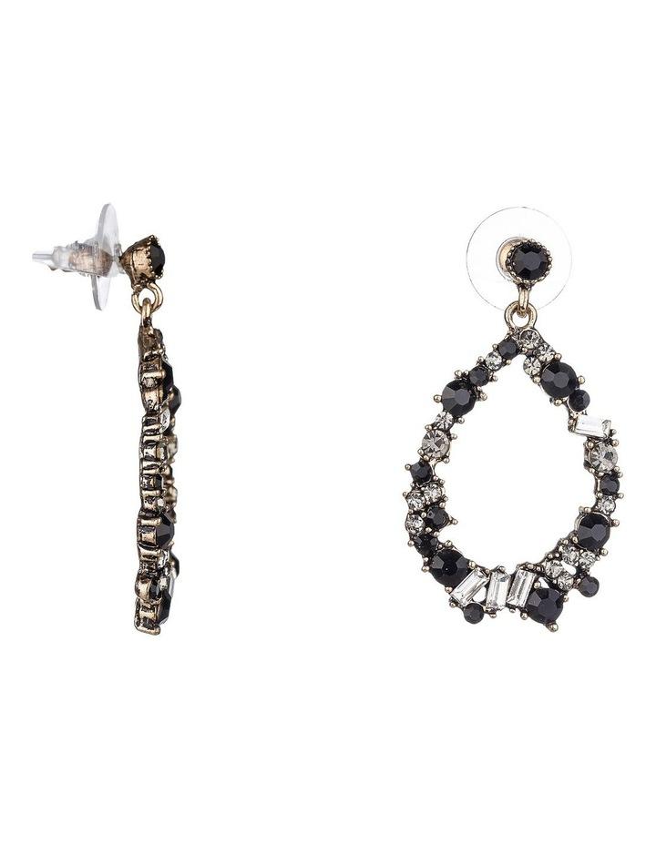 Oval Drop Earrings image 2
