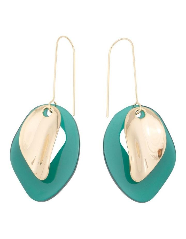 Brock Resin Earrings image 1