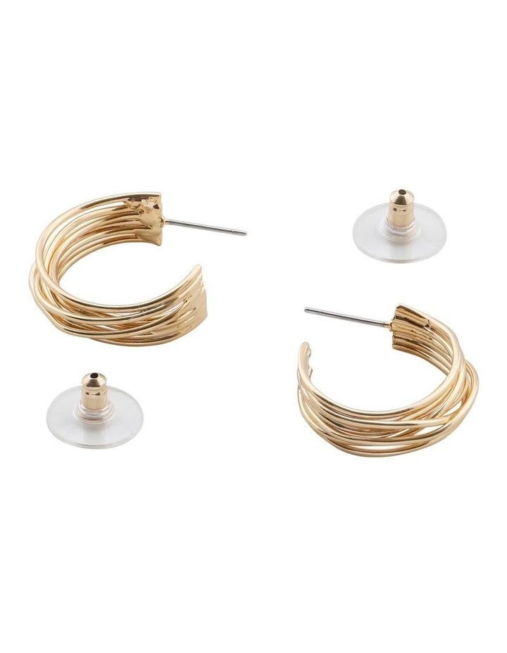 Lisa Hoop Earrings image 1